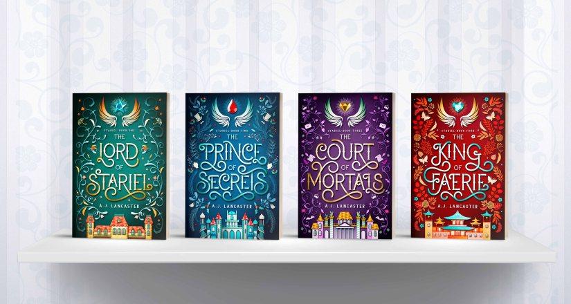 The four books in the Stariel quartet.